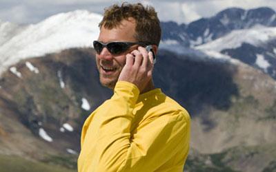 Making Calls with the Iridium GO